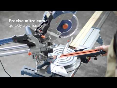Видео обзор: Пила торцовочная BOSCH GCM 8 SDE