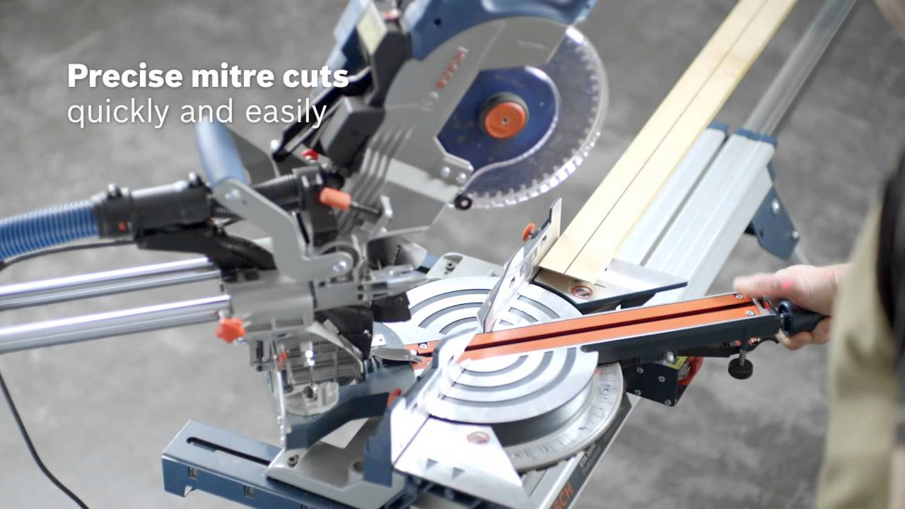 bosch gcm 8 sde professional sliding mitre saw youtube. Black Bedroom Furniture Sets. Home Design Ideas