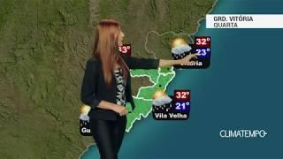 Previsão Grande Vitória - Sol e chuva forte