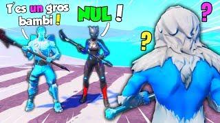 Ces 2 kikoos rageux me provoquent gravement, ils m'insultent ! Fortnite Battle Royale
