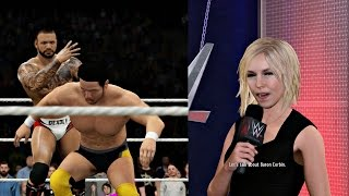 WWE 2K16 PS4 MyCAREER - RUMOR TALK! Road to CHAMPIONSHIP!! Ep. 9