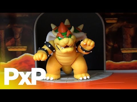 Be King (or Queen) with Jakks Pacific's Bowser's Castle Playset! | A Toy Insider Play by Play