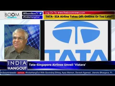 TATA- SIA Airline Finally Takes Off: Ontime Or Too Late? || Boom Live