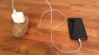 Mobile charging with a potato thumbnail