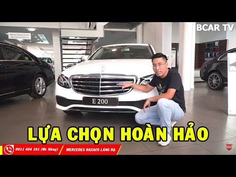 ✅ REVIEW chi tiết Mercedes E200 giá hơn 2 tỷ - Chiếc xe cho doanh nhân thành đạt