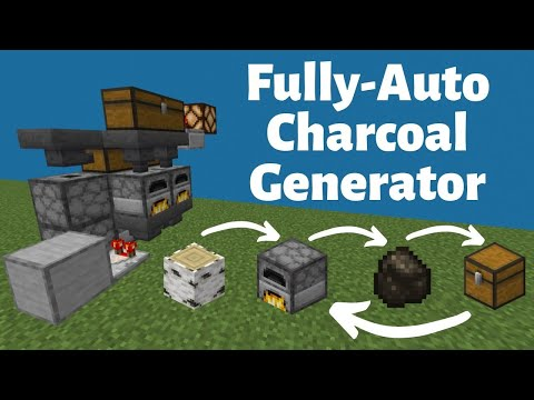 Fully-Auto Charcoal Generator