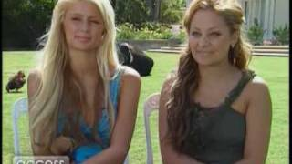 Nicole Richie and Paris Hilton 2003 chat about the Simple Life 1