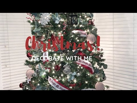 CHRISTMAS TREE DECOR 2019 | TIPS FOR DECORATING A CHRISTMAS TREE | RUSTIC FARMHOUSE