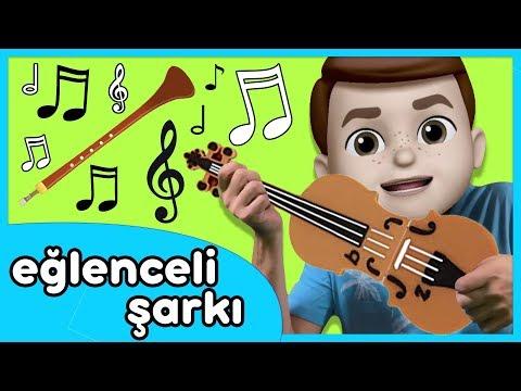 Müzik Aletleri Düğüne Gitmiş - Enstrümanları Öğreten Çocuk Şarkısı