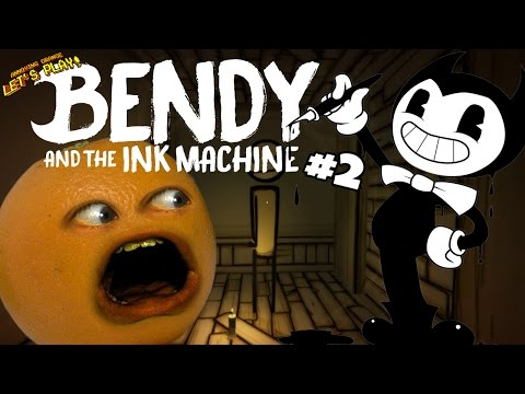 Annoying Orange Plays - Bendy and the Ink Machine #2