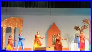 2010 BADFW Durga Puja - Villagers Dance - Chitrangada Dance Drama