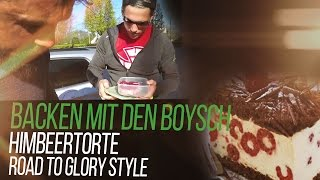 Backen Mit Roadtoglory #1 - High Protein Himbeer Fitness Torte