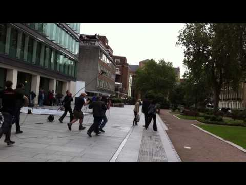 Silent Witness, Behind The Scenes Filming Of Series 16 At Birkbeck / SOAS, 13-07-2013