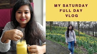 Saturday full day vlog || Daffodils Garden || Spring has finally arrived || Indian vlogger Soumi
