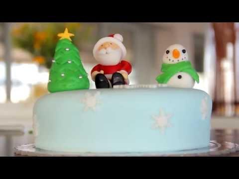 Eventful - Εκπομπη Γαμου Βαπτισης Concept Cupcakes Χριστουγεννιατικη Τουρτα
