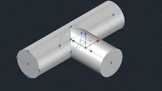 T - Joint design - AutoCAD (Basic)