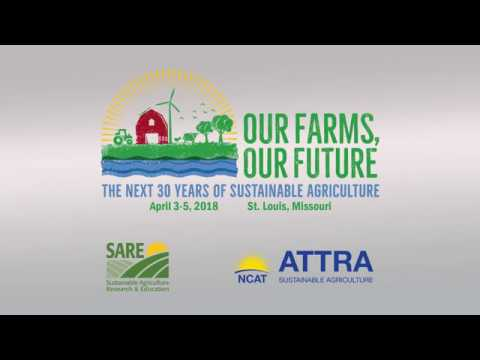 """""""Sustainability in 180 Seconds"""" Graduate Student Event, 2018 Our Farms, Our Future Conference"""