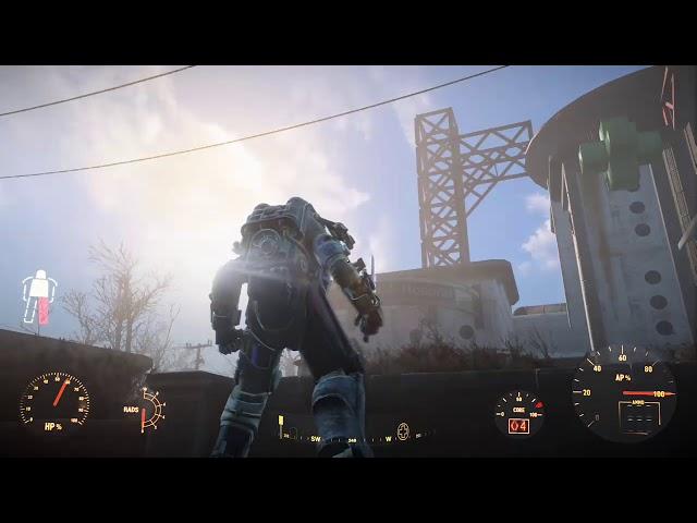 Fallout 4: Lucky Grenade Throw