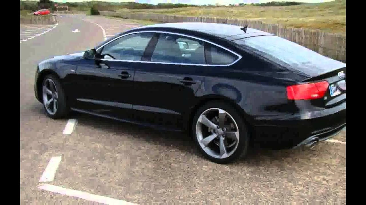 audi a5 sportback 3 0 tdi 204 cv multitronic s line edition autom vil youtube. Black Bedroom Furniture Sets. Home Design Ideas