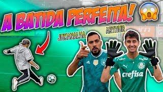 DESAFIO DE FALTAS NO CT DO PALMEIRAS: JUKANALHA VS GINGA STREET