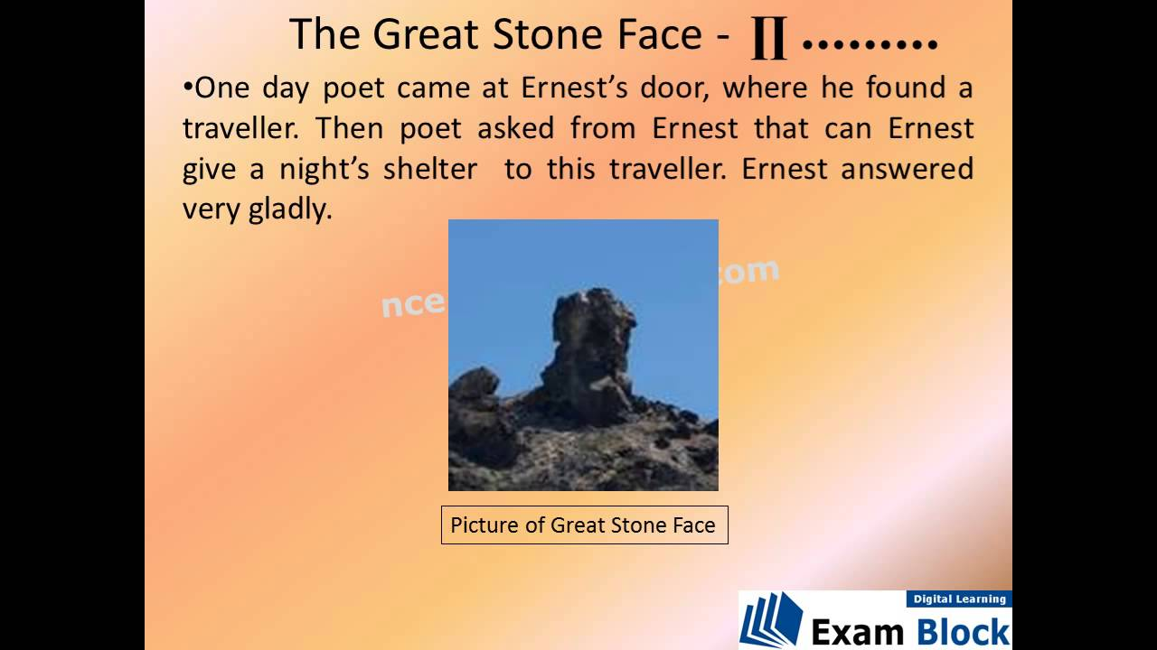 the great stone face pdf