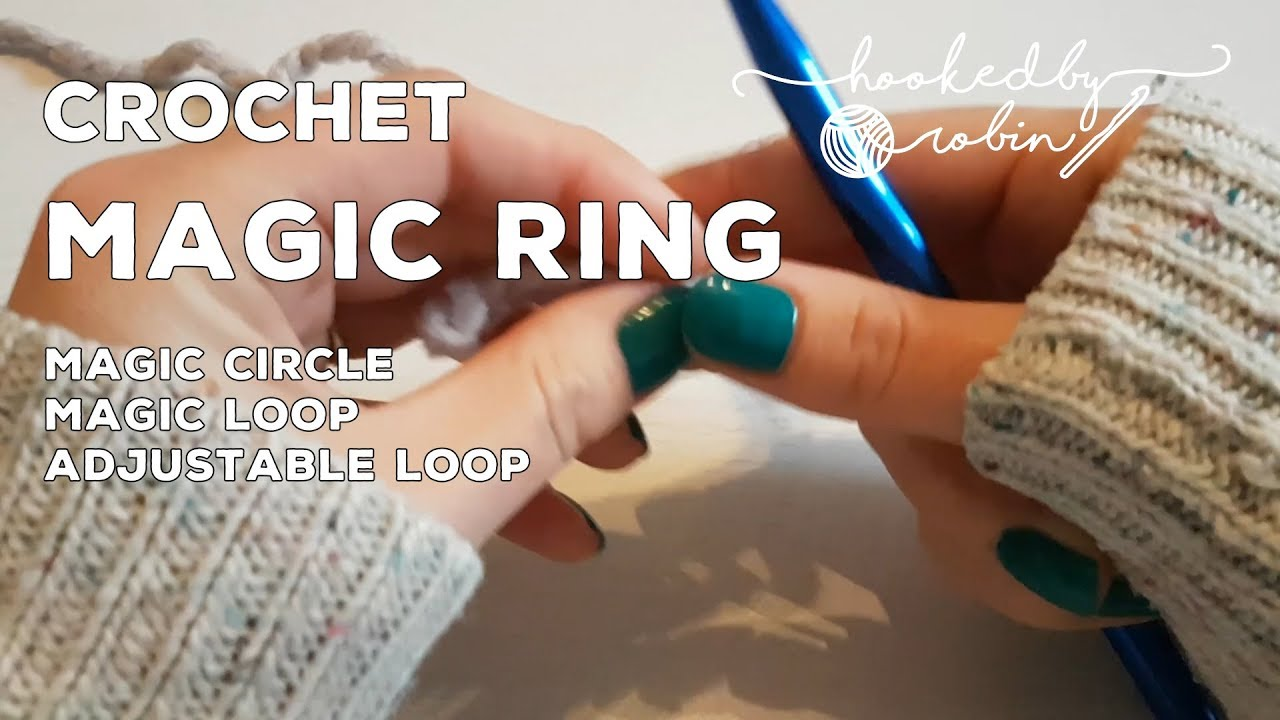 How to make a crochet magic ring (or magic circle / magic ring ... | 720x1280