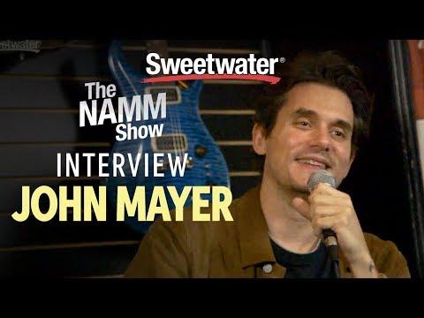 John Mayer Interview at Winter NAMM 2019