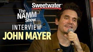 John Mayer Interview at Winter NAMM 2019 Video