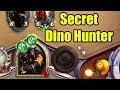 Hearthstone Fun Decks: Secret Dino Hunter | WoWcrendor