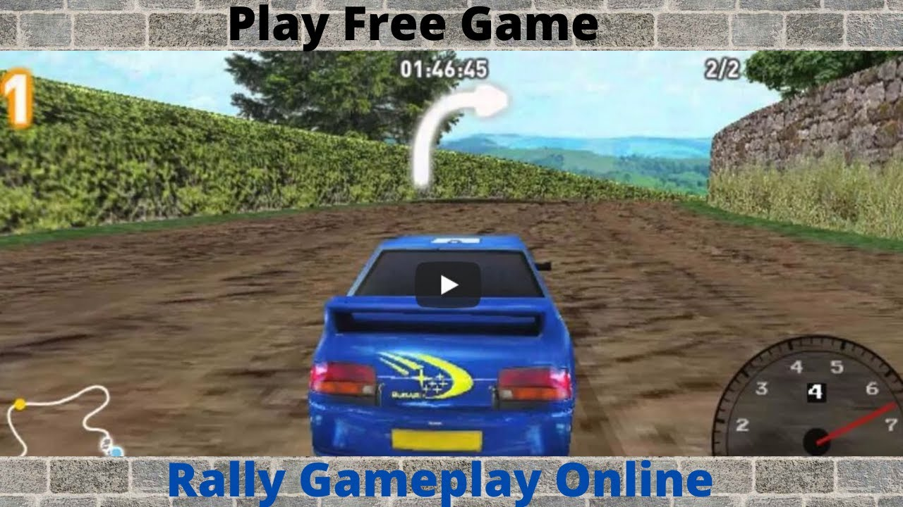 Play Free Game Super Rally 3d Rally Gameplay Online