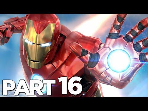 MARVEL'S AVENGERS Walkthrough Gameplay Part 16 WARBOT BOSS (2020 FULL GAME)