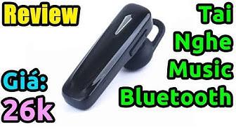 Mở hộp tai nghe Bluetooth Music M165 siêu rẻ mà tốt