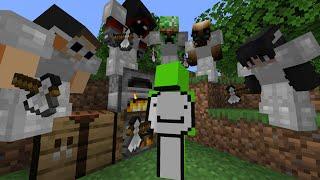 Minecraft Speedrunner VS 5 Hunters REMATCH