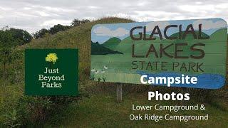 Glacial Lakes State Pąrk Campsite Campground Photos Starbuck, MN Minnesota State Park
