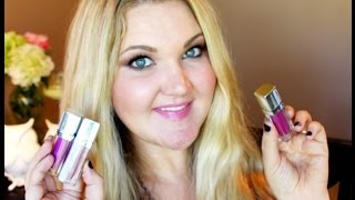 ★NEW MAYBELLINE COLOR ELIXIR LIQUID BALMS   LIP SWATCHES + REVIEW★