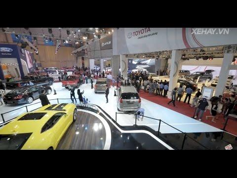 [XEHAY.VN] Hơn 100 mẫu xe xuất hiện tại Triển lãm VMS 2016