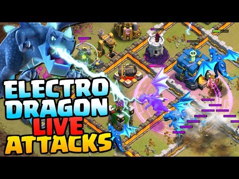 ELECTRO DRAGON LIVE ATTACKS | Town Hall 12 Attack Strategy | Clash of Clans