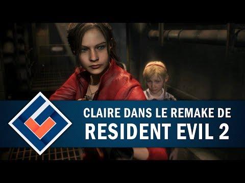 RESIDENT EVIL 2 REMAKE : Mais oui c'est Claire ! | GAMEPLAY FR