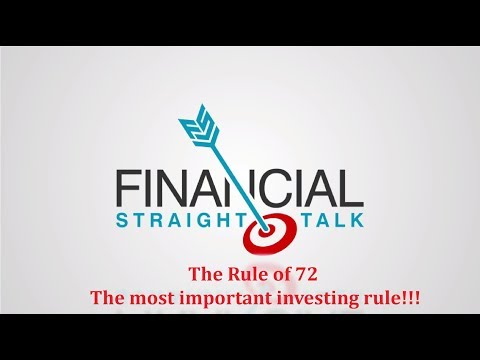 Learning the Rule of 72 will change your family's life!