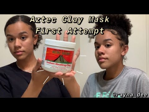 Aztec Clay Mask First Attempt