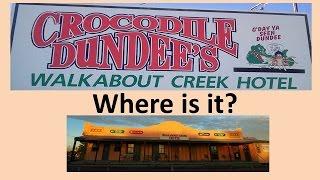 Crocodile Dundee Walkabout Creek hotel - McKinlay, Where is it?