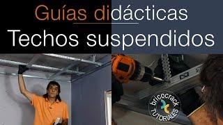 Instalar techo o cielorraso suspendido con placas de yeso laminado (Bricocrack)