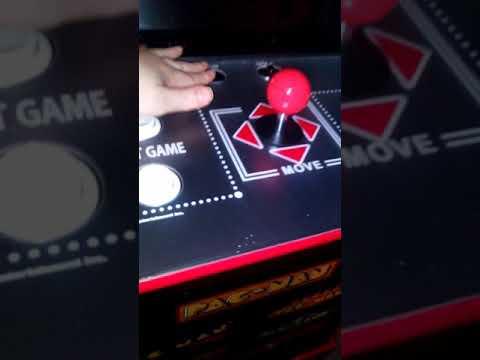 secret pacman test mode for arcade1up from GameRush