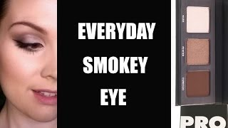 Everyday Smokey Eye Makeup Tutorial (feat. LORAC Pocket PRO Palette) Thumbnail