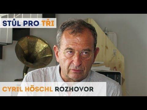 Cyril Höschl: Dřív nebyla šance šířit blbosti tak rychle jako dnes | Neurazitelny.cz | Stůl pro tři