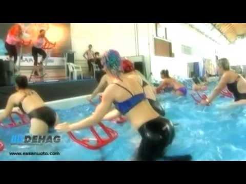 Aqua Cycling mit progressivem Hydrodynamischen Widerstandsrotor