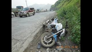 Accidental Highway in Manikgonj Road Barobaria/Accidental Road/So be Careful Specially Bikers