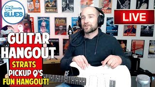 Playing Guitars, New Licks, Digital vs Analog, and more! - intheblues Live Stream