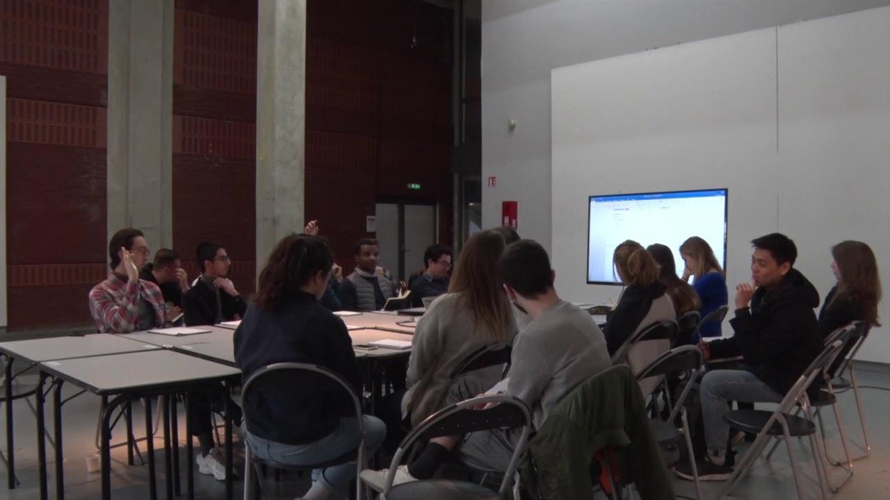 Ensa Paris Val De Seine 【processus de conception】 de3 expérimental / séance introductive