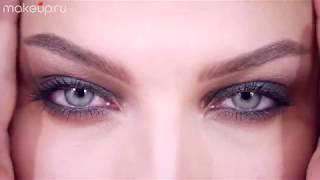 Смоки айс для зеленых глаз: видеоурок